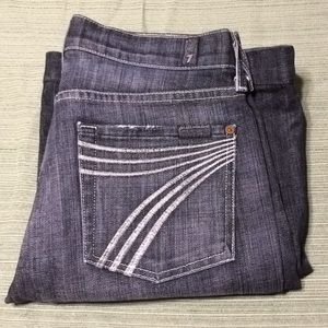 7 FOR ALL MANKIND DOJO BOOT JEANS STRETCH CONFY